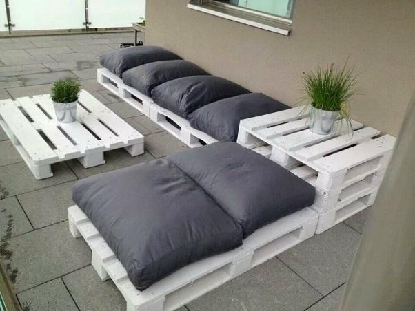 Low budget tuin idee zelf een tuinset maken